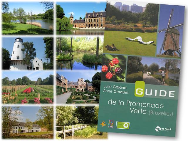 Guide de la promenade verte -Bruxelles se met au vert en 7 étapes - Edition Renaissance du Livre - Julie Galand - Anne Croquet - Bruxelles-Bruxellons