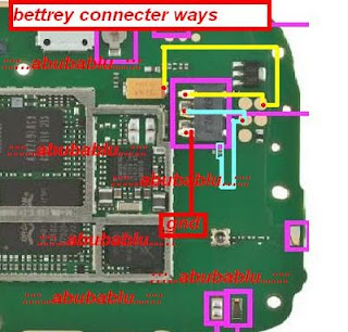 NOkia X1-01 Battery Connector Solution Ways