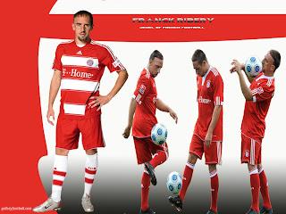 Franck Ribery Bayern Munich Wallpaper 2011 3