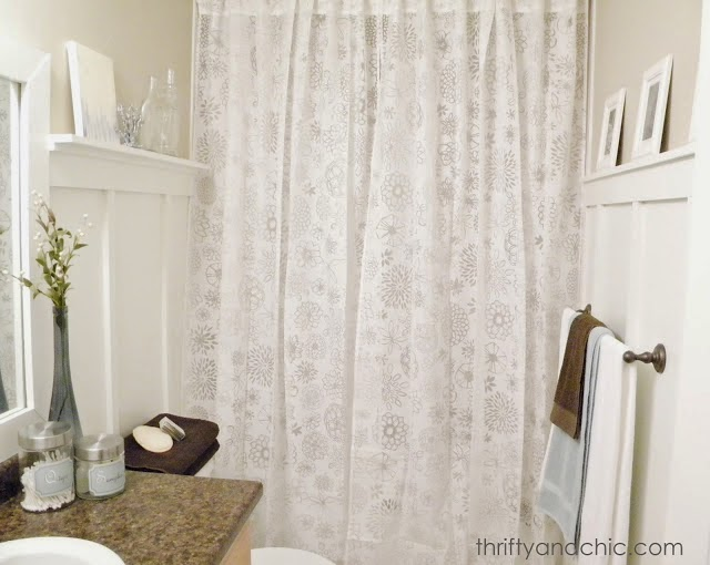 Bathroom makeover for under $60!