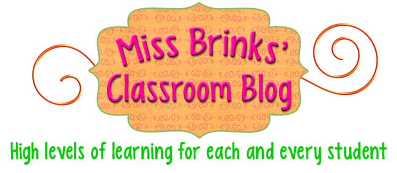 Miss Brinks' Classroom Blog