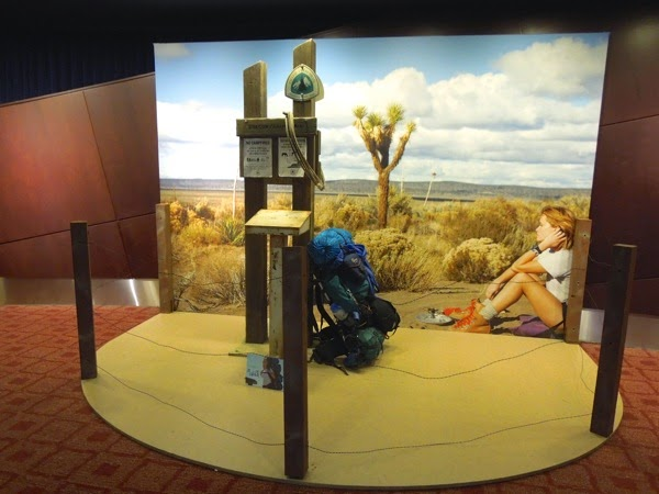 Wild movie prop exhibit