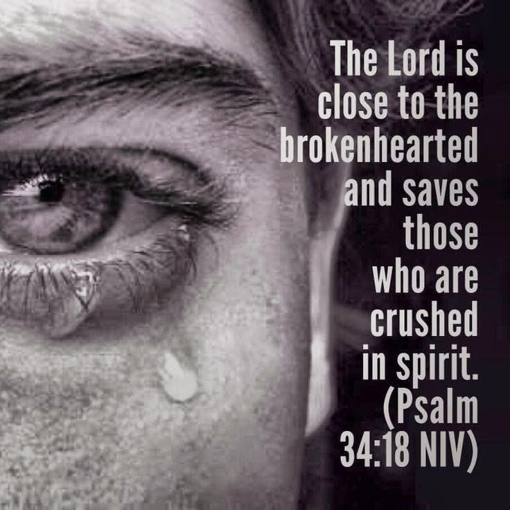 Quotes and Sayings: The Lord Is Close To The Brokenhearted Faith In God Quotes And Sayings