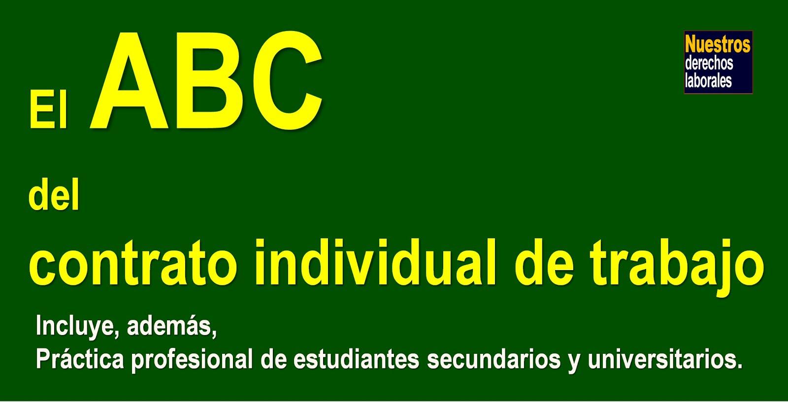 INCLUYE PRÁCTICA PROFESIONAL DE ESTUDIANTES SECUNDARIOS Y UNIVERSITARIOS.