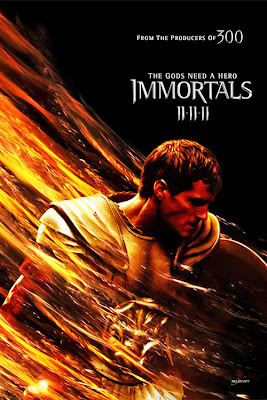اعلان immortals poster immortals