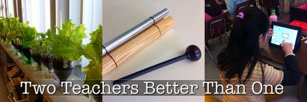 Two Teachers Better Than One