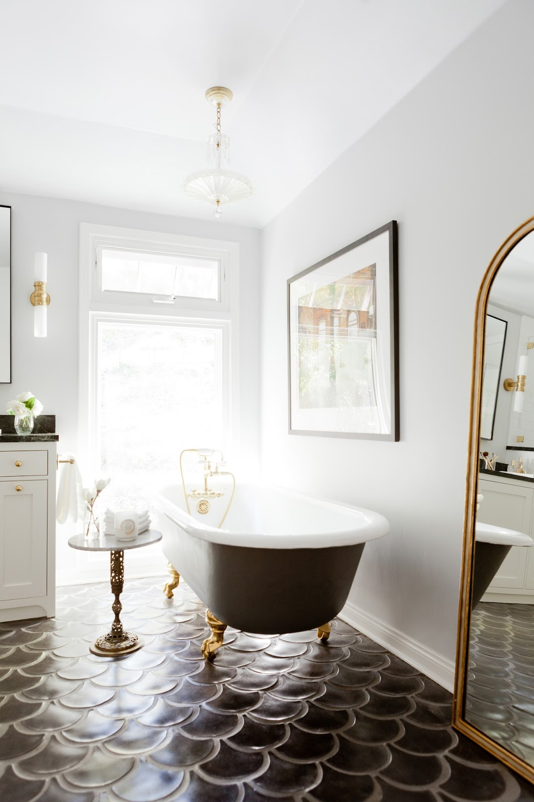 Rosa Beltran Design: DELUXE DOUBLE BATHROOM REMODEL PUBLISHED ON ...
