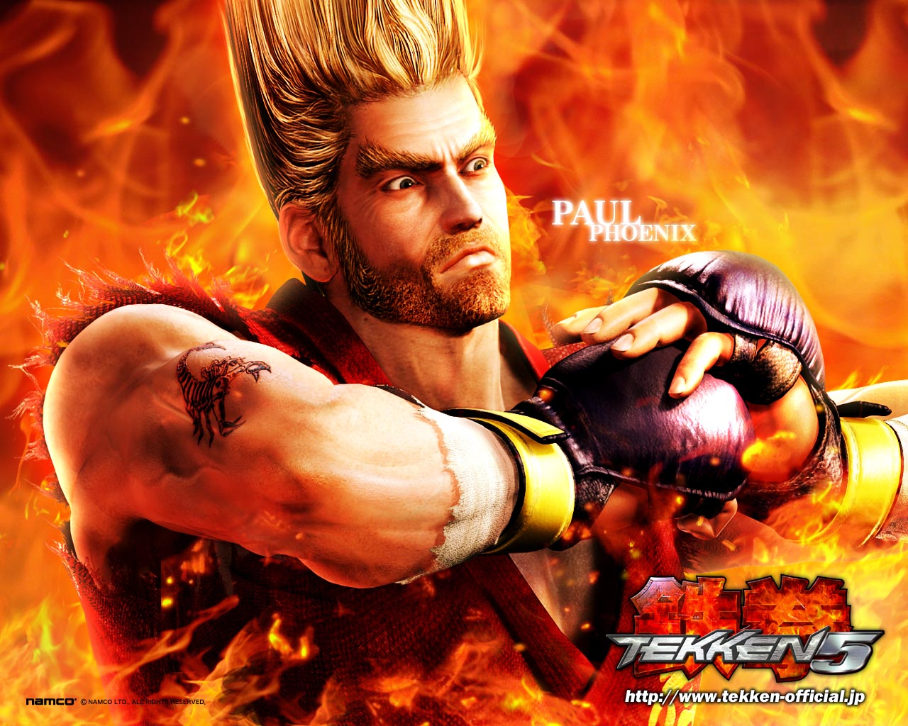 HD wallpapers: Tekken 5 Game HD Wallpapers all characters in 1280x1024