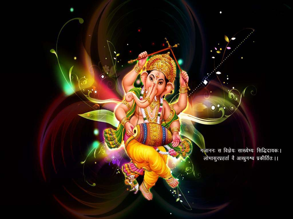 cartoon ganesha wallpaper