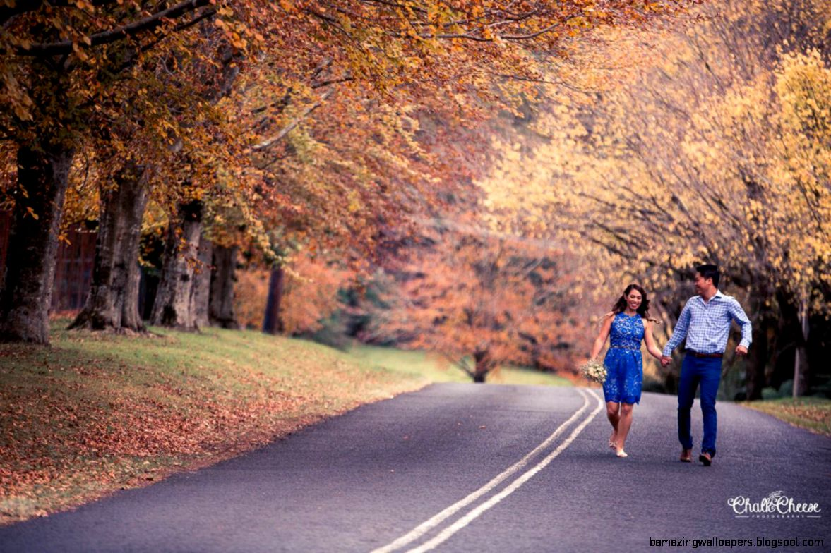 A sweet Autumn love story with Mai  Roy » Candid
