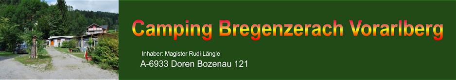 Camping-Bregenzerach Vorarlberg