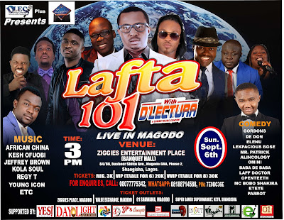LAFTA 101 with D'Lectura Hits Magodo