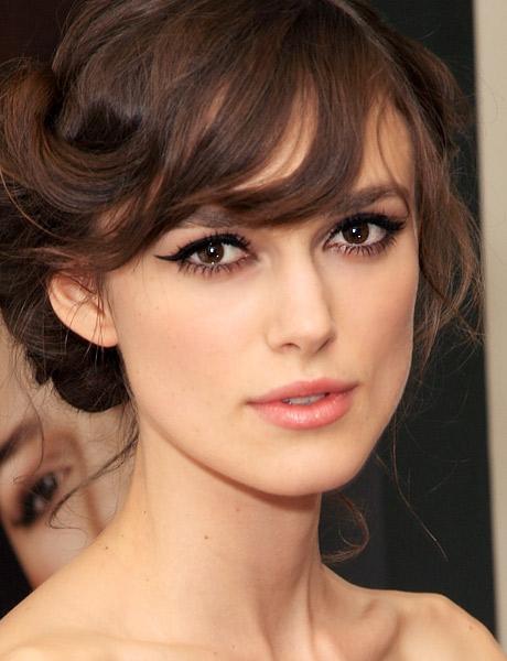 makeup, maquilhagem, delineado, Keira Knightley