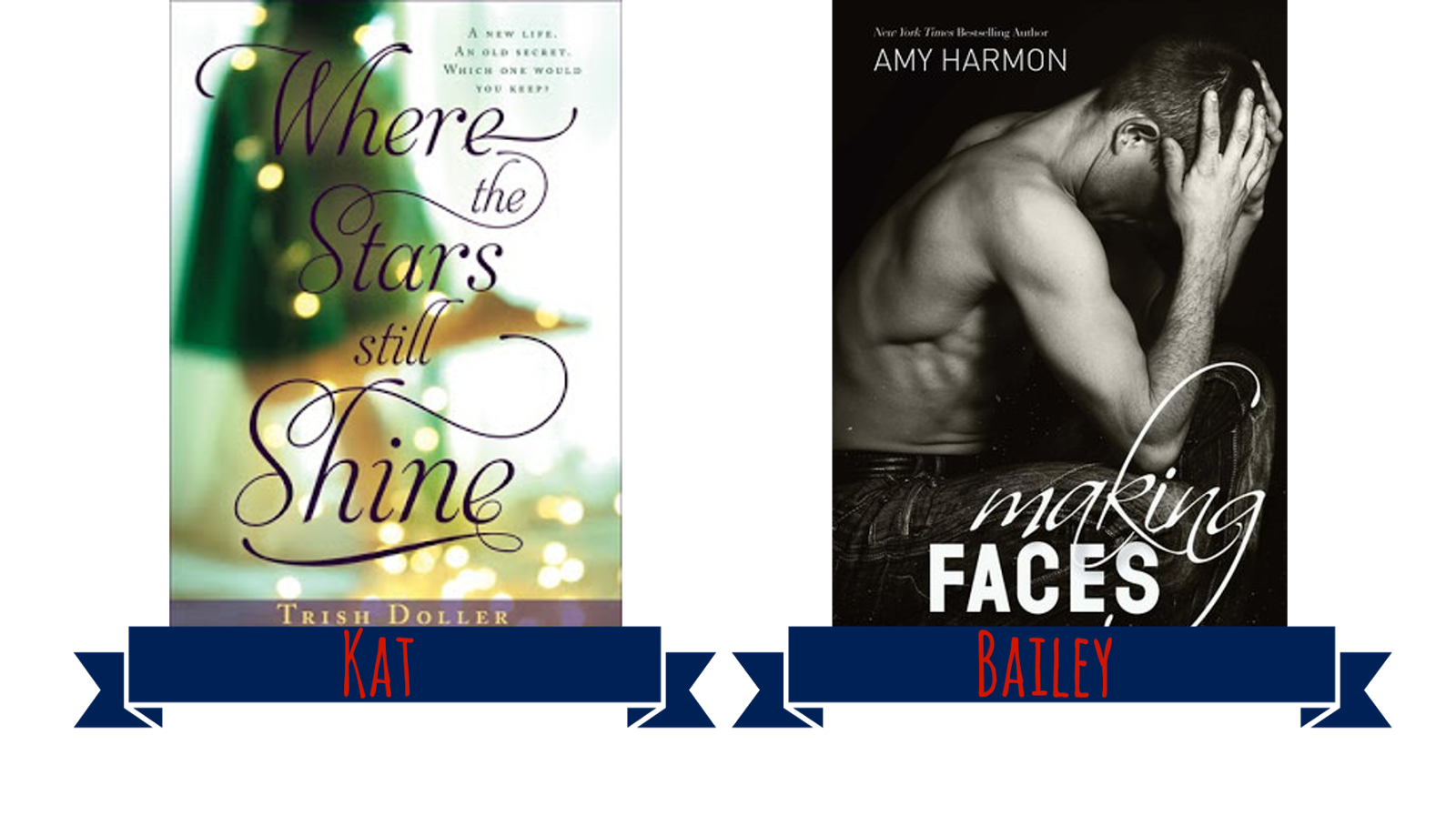 Where the Stars Still Shine + Making Faces book covers