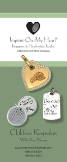 Imprint On My Heart Children's Keepsake Jewelry Brochure