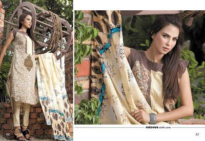 Lawn Eid Dresses