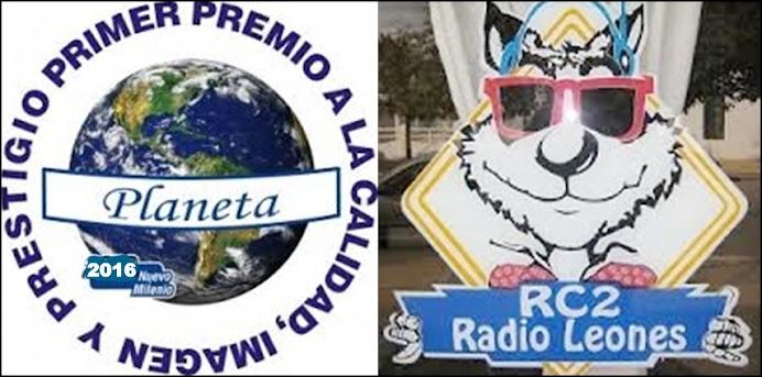 RC2 NOMINADA AL PREMIO PLANETA INTERNACIONAL NUEVO MILENIO 2016