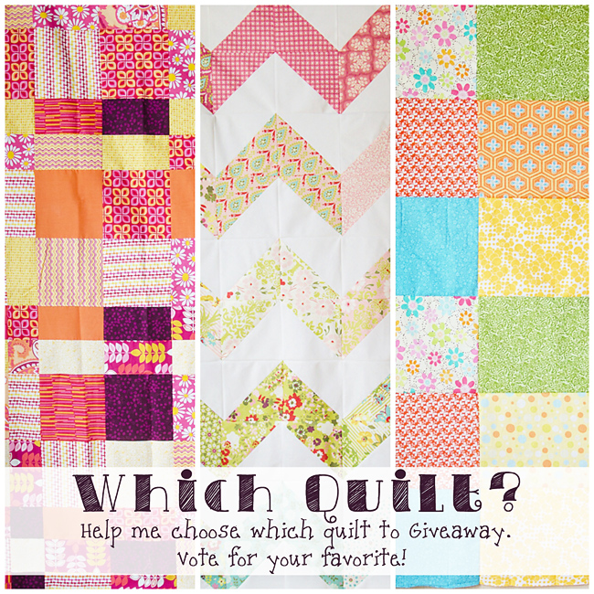 Help me choose the quilt!