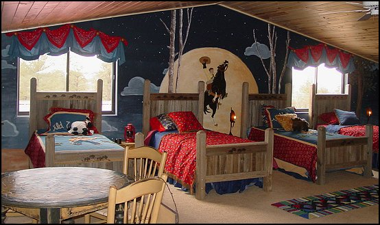 Attractive Cowboy Theme Bedrooms   Rustic Western Style Decorating Ideas   Rustic  Decor   Cowboy Decor