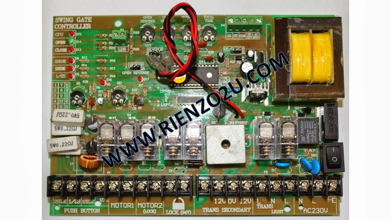 Autogate Malaysia Parts Accessories Panel Board Wiring 2