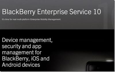 Morgan Stanley, Boeing, Aneurin Bevan University Health Board y Secusmart prueban BlackBerry Enterprise Service 10.2 Waterloo, ON – BlackBerry® (NASDAQ: BBRY; TSX: BB) anunció hoy mejoras en su galardonada solución de administración de movilidad empresarial (EMM) multiplataforma incluidas en la versión 10.2 de BlackBerry® Enterprise Service 10 (BES 10). Clientes de BES 10, como Morgan Stanley, Boeing, Aneurin Bevan University Health Board y Secusmart, están participando de los programas Beta y Early Adopter de la versión 10.2, y la están corriendo en un entorno de prueba. Hasta la fecha, se han instalado cerca de 30.000 servidores comerciales y de prueba