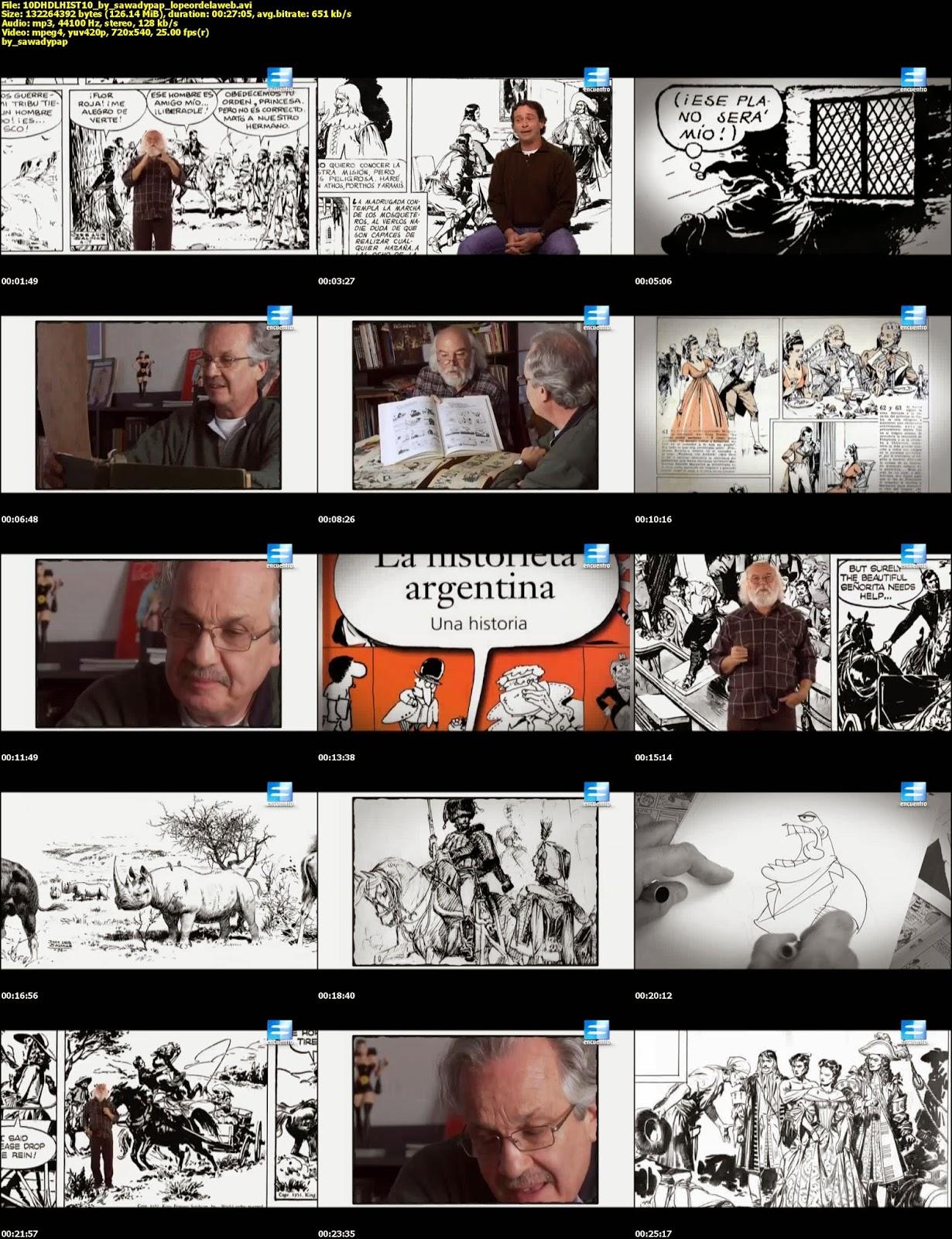 Continuará... La Historia de la Historieta [2010] [TVRip]