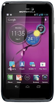 Motorola Atrix HD LTE (Canadá)