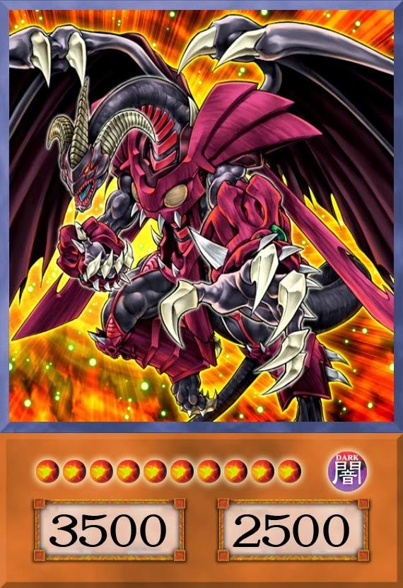 red dragon archfiendassault mode vers227o anime yugi