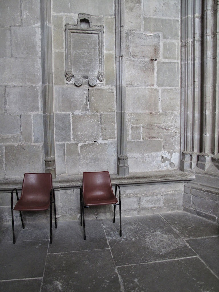 Out of place Chairs in Cathederal - Photo by Keri Muller (simpleintrigue)