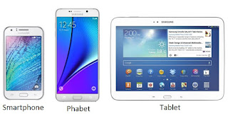 Smarphone Phabet dan Tablet