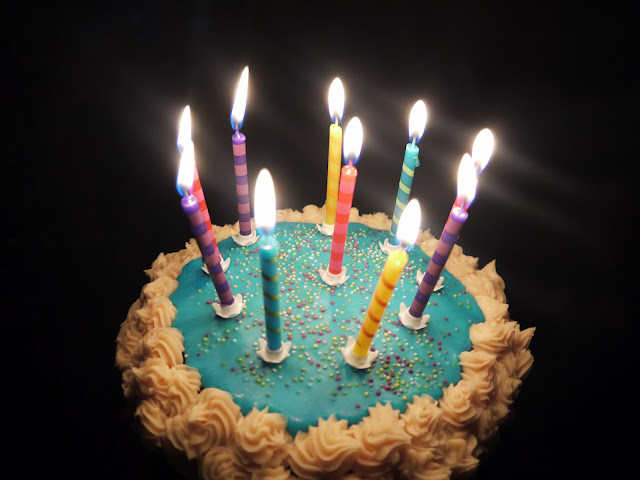 Pictures Of Birthday Cakes With Many Candles : Inside the Wendy House: Birthday Cake