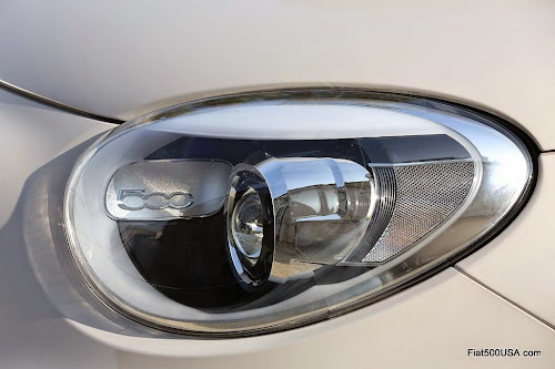 Fiat 500X Lounge Headlight