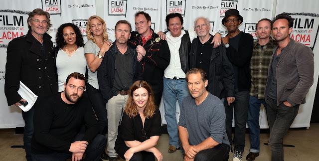 Quentin Tarantino e Tim Roth vêm a São Paulo para lançamento de Os Oito Odiados