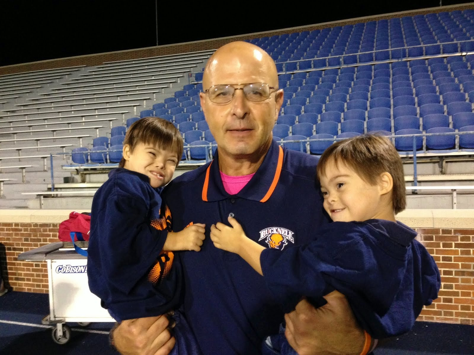 Head Football Coach Joe Susan at Bucknell