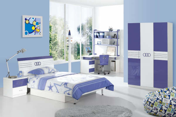 Blue Bedrooms For Kids Most Beautiful