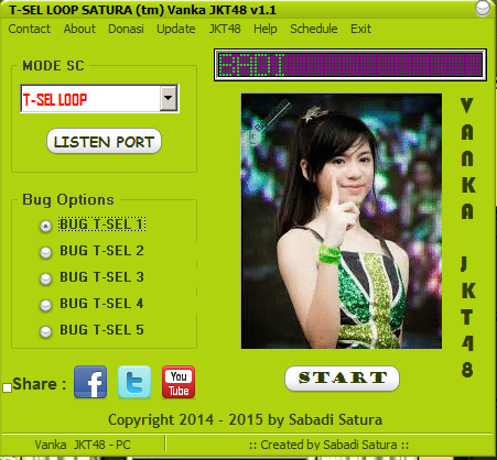 Download Inject T-SEL LOOP SATURA (tm) Vanka JKT48 v1.1 - Work 2015