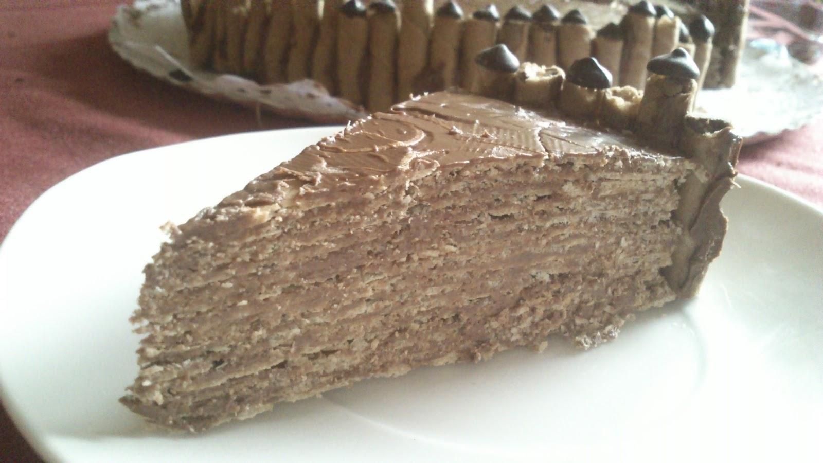 Tarta de Chocolate Exprés sin Horno