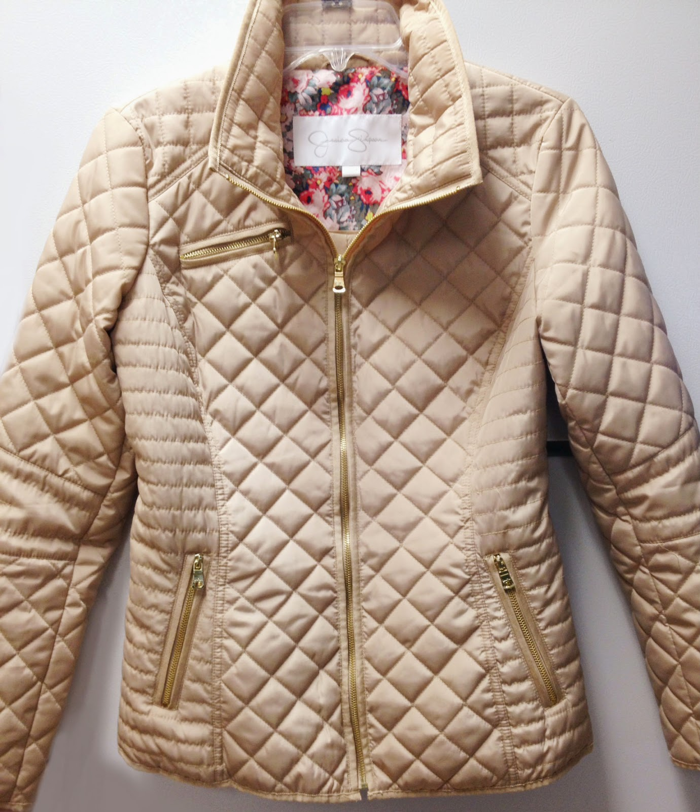Beauty101byLisa: T.J.Maxx Winter Clearance - Fabulous Quilted Jacket! : gold quilted jacket - Adamdwight.com
