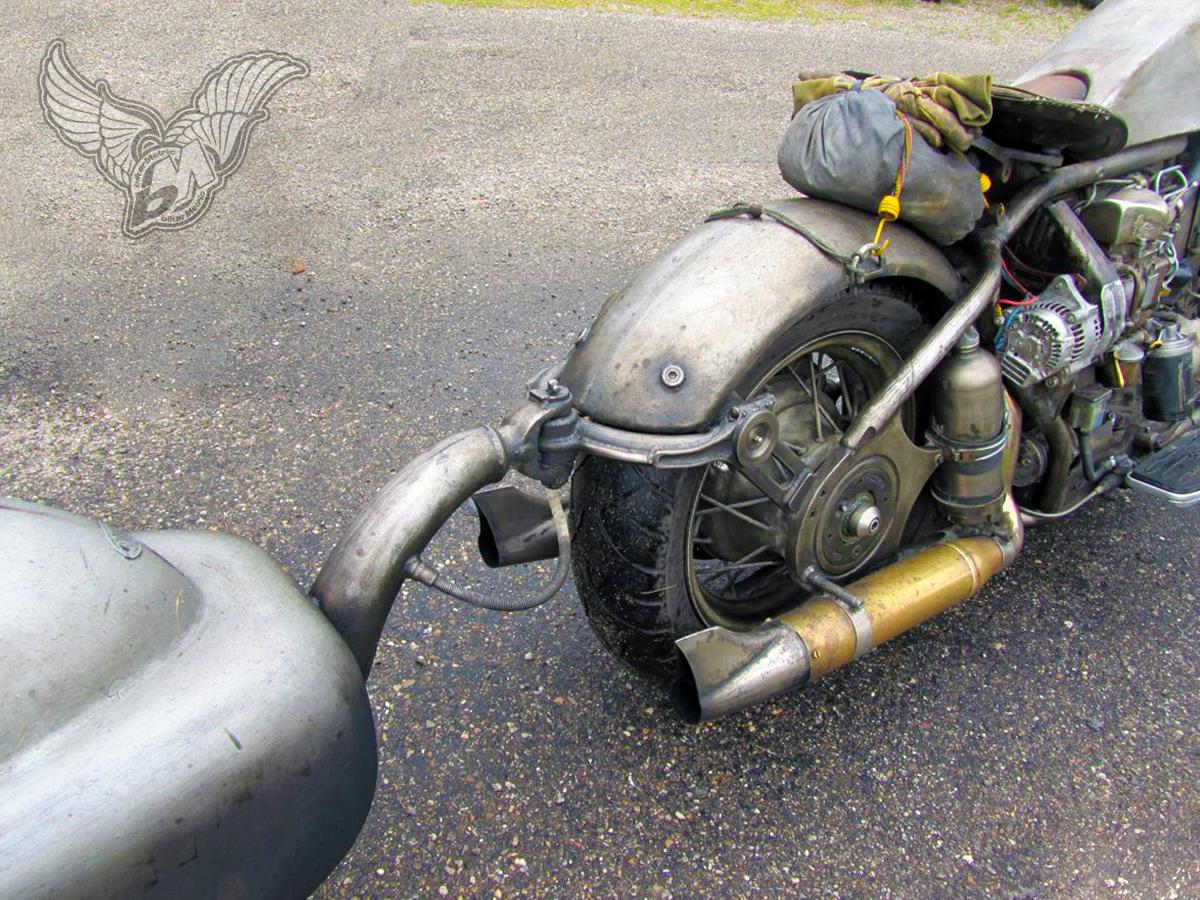 1.6 liter volkswagen turbo diesel motorcycle | photo by bigzark
