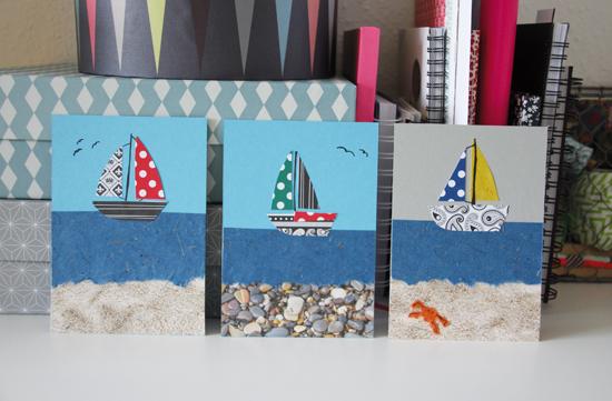 binedoro Blog, DIY, Karten, basteln, Grußkarten, Pappe, Papier,