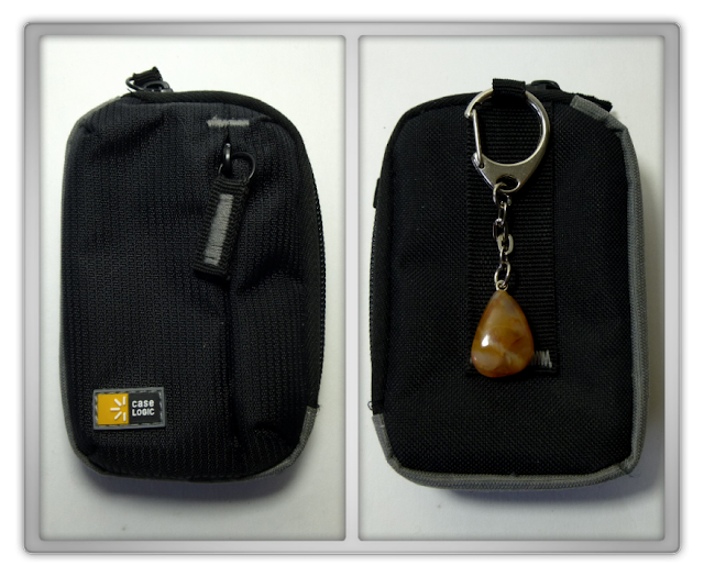 Case Logic camera bag Carneool gemstone