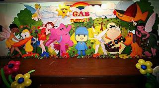 Pocoyo Decoration for Children Parties