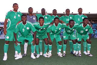 Convocados de Nigeria Mundial Sub 20