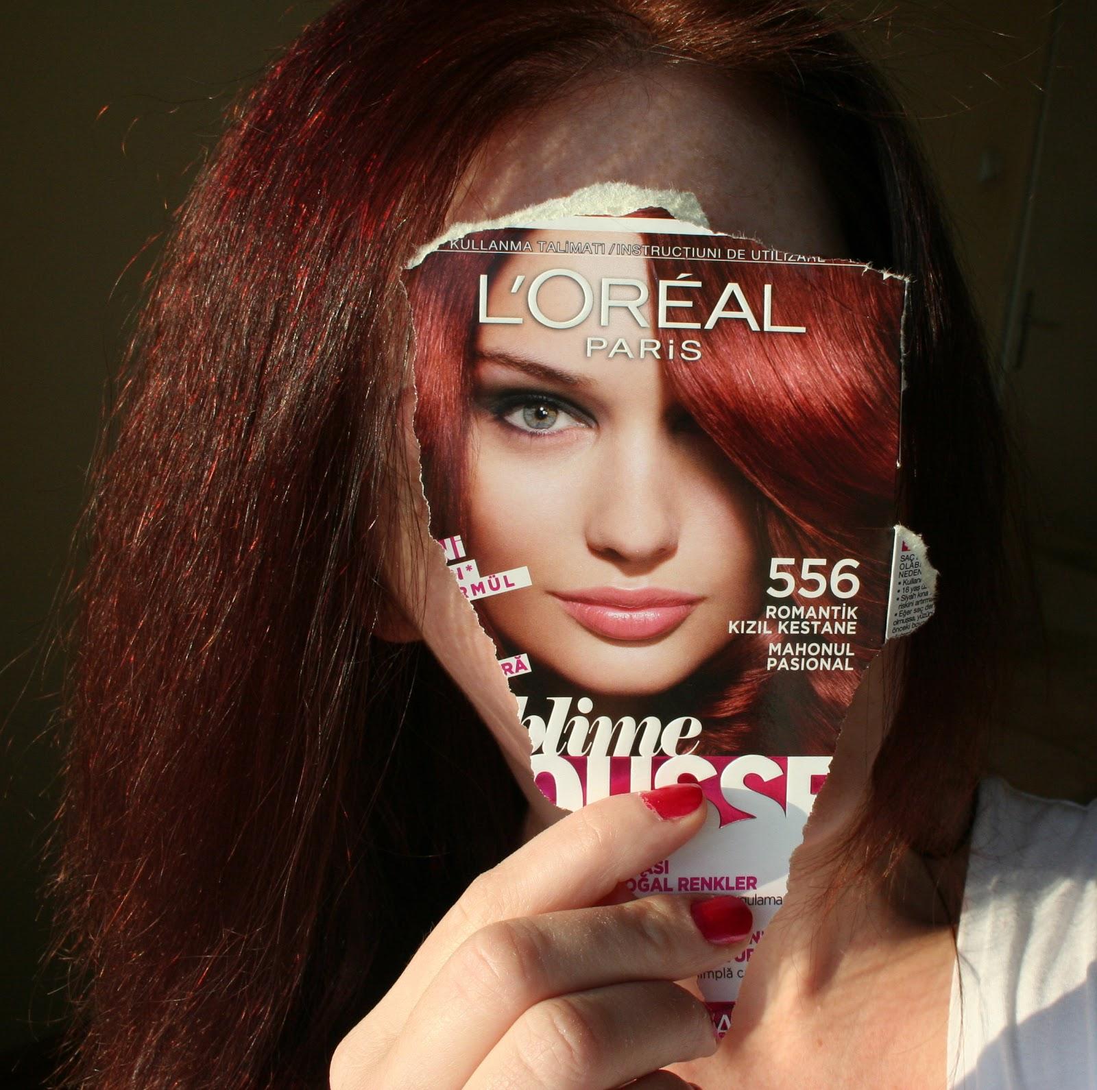 Displaying 19> Images For - Loreal Dark Mahogany Brown Hair Color...