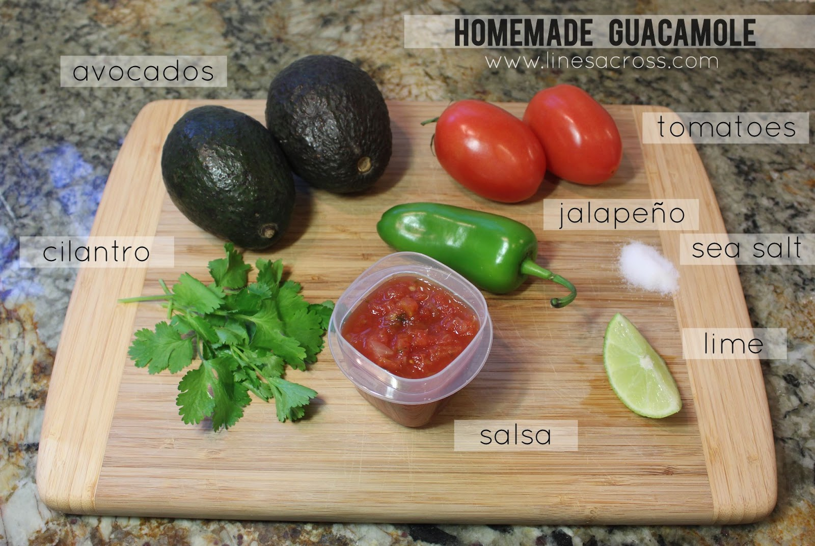 homemade guacamole recipe serves 3 4 2 ripe avocados 3