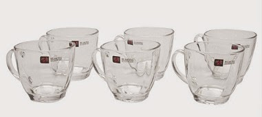 Blinkmax Tea cups – 6 Pieces worth Rs.425 for Rs.246 Only @ Pepperfry (Free Home Delivery)