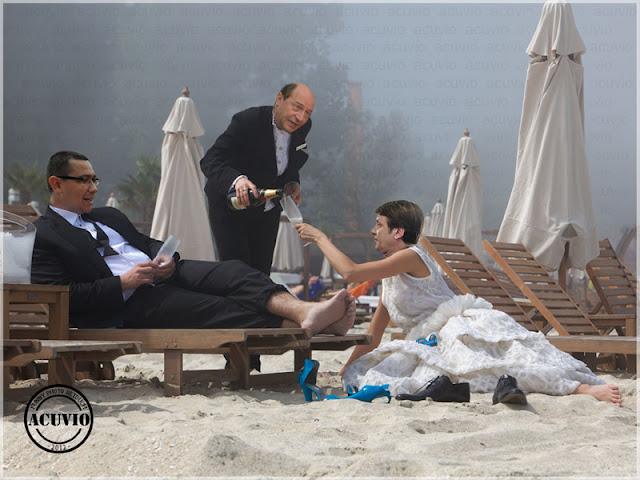 Funny photo Victor Ponta Crin Antonescu Traian Basescu Jokes