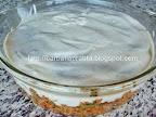 Musaca de vinete preparare reteta - deasupra ultimului strat turnam sosul bechamel
