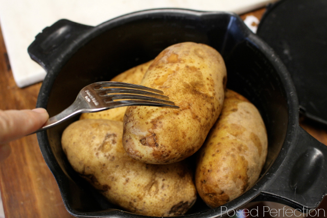 "Quick ""Twice-Baked"" Potatoes"