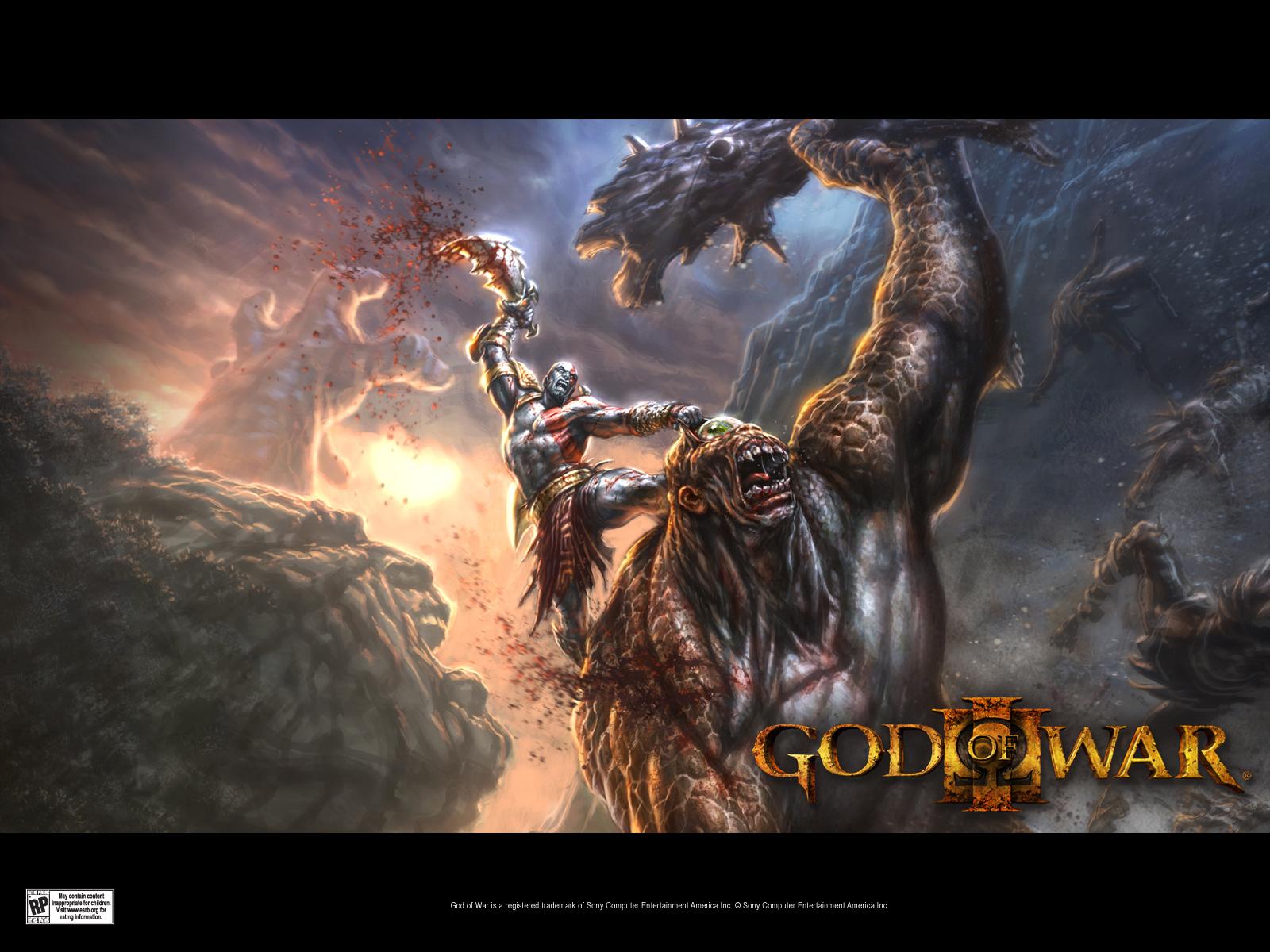 Wallpapers de God of War 3 HD